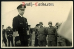 orig. WWII Photo - Admiral Karl Doenitz vist the Atlantic Wall in France